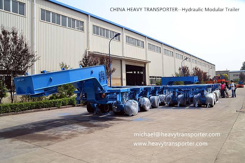 modular trailer. multi axle, lowbed trailer,low boy, low loader,extendable trailer,hydraulic trailer