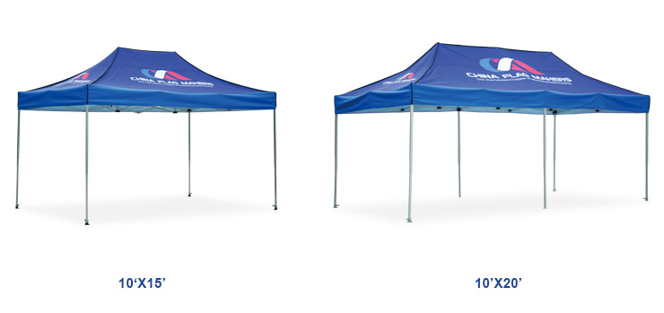 Feng Yushun factory outlet outdoor exhibition shade tents printed four-foot thick tents