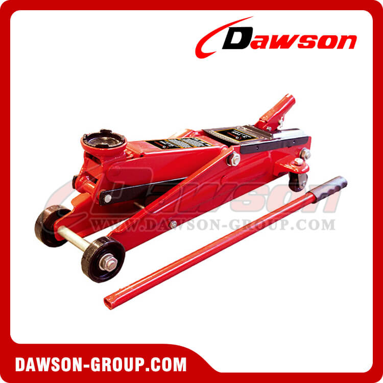 DST83003 3 ton heavy duty hydraulic trolley jack car floor jack for sale