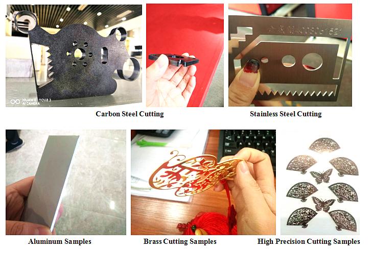 1000w Cnc Fiber laser cutting machine cutting all kinds of Metal Sheet