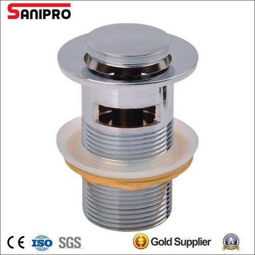 1 1/4'' Brass basin pop up sink drain high level