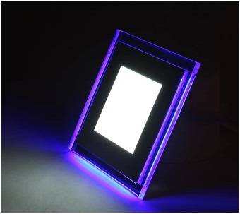 Changeable Color square LED Flat Panel Light 24 Watt  240mm x 240mm Super Bright