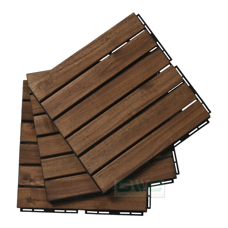 Wood Flooring for Exterior Space