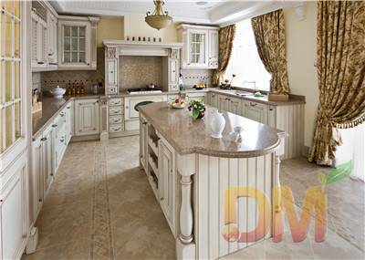 Custom made wooden kitchen cabinets china supplier