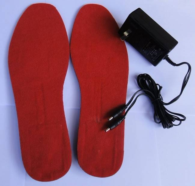 wireless electric heated insoles, thermal heated insoles,shoes pad,winter insoles