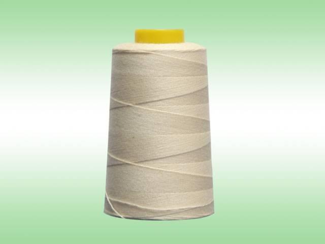 Bale of cotton polyester core-spun Thread