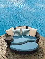 FCO-030swimming pool patio sunbed garden furniture daybed