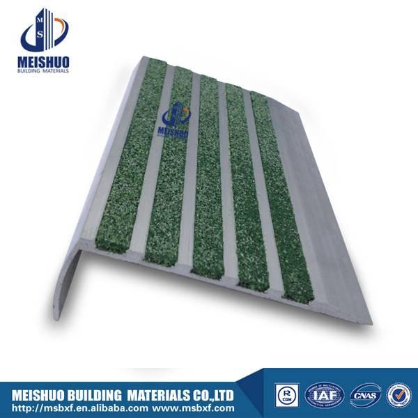 tile ceramic anti slip carborundum stair nosing inserts