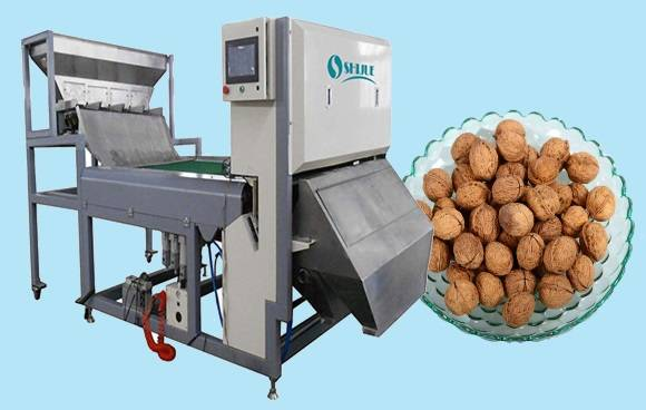 Excellent quality and good after-sales Color Sorter for Walnut