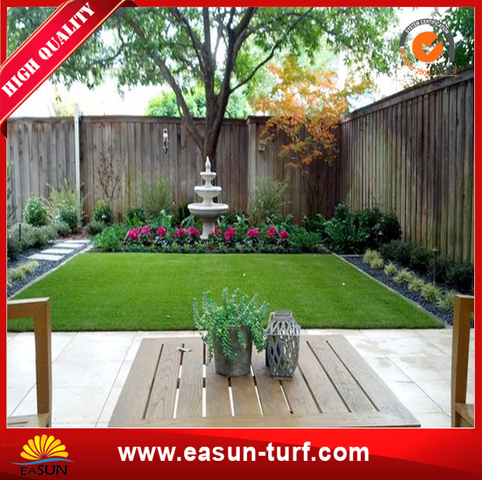Anti-UV Outdoor Decoration Synthetic Artificial Grass for Garden-MY
