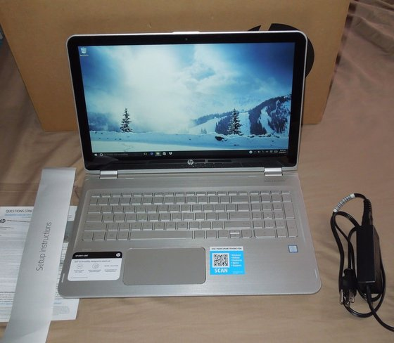 Brand New HP ENVY - 17t Touch Laptop