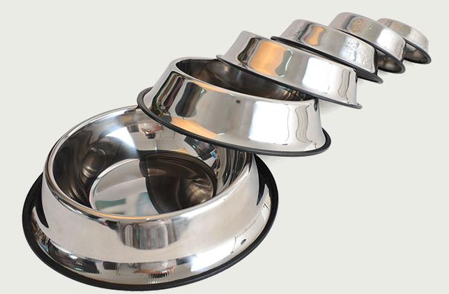 Pet Bowls Pet Bowl Cat Dog Stainless Steel Bowls Pet Feeder