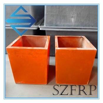 Hot sale durable light weight FRP flower pot