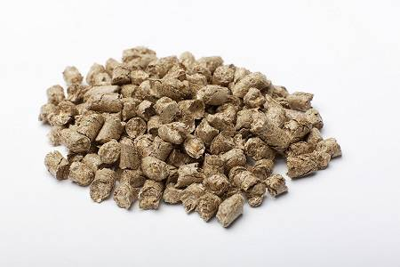 Rape straw pellets animal bedding