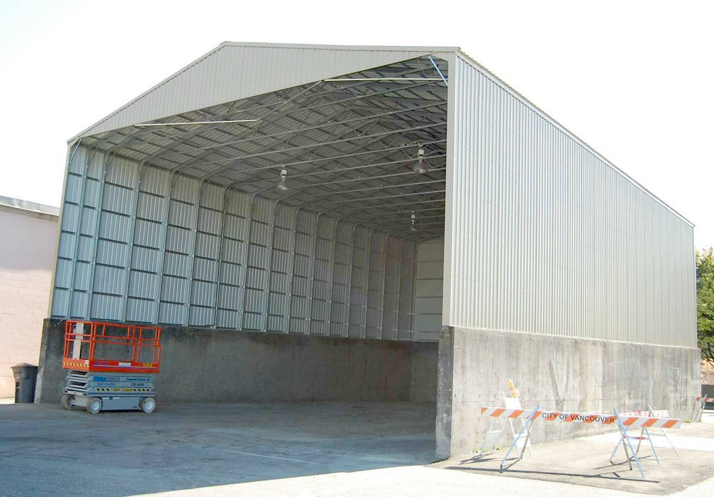 Warehouse prefabricated steel structure building