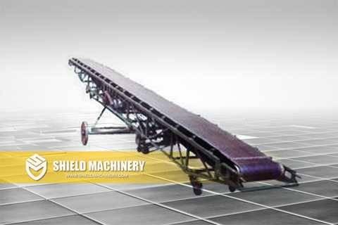 Foam Concrete Brick Machine Band Conveyor