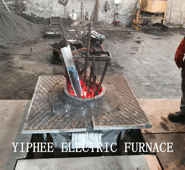 Steel Iron Melting Electric Furnace