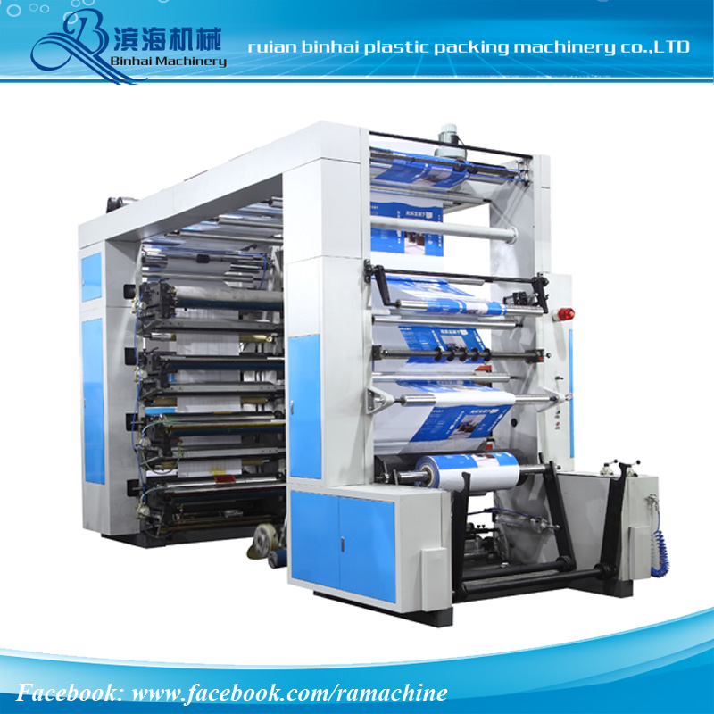 8 Colors High Speed Flexo Printing Machine