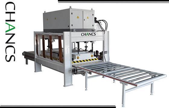 High Frequency Conveyor Belt Type Edge Gluer---CHANCS MACHINE