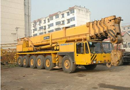 DEMAG AC615 200T used truck crane for sale