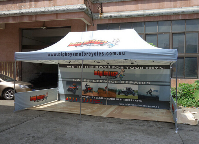 Feng Yushun outdoor advertising customization 118in118in-sided fabric stall tent