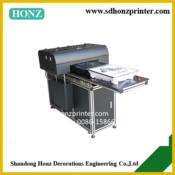 Digital Flatbed Direct jet T shirt Printer 8 colors A2 Size