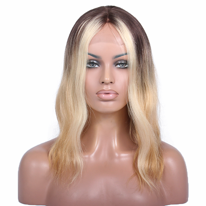 Silk base full lace wig with baby hair,100% unprocessed afro kinky human hair wig