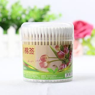 200PCS Bamboo Stick Cotton Buds Ear Clean Make up Cosmetic Cotton Swabs in Box