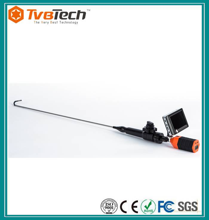 Hot selling car repair inspection camera video flexible endoscopes borescope with 13.8mm camera