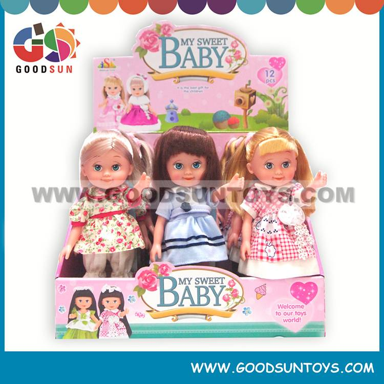 "9"" Vinyl Doll W/ Music 033178"