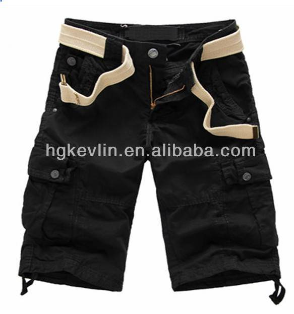 Customized Loose Design Pants OEM Casual Cotton Shorts