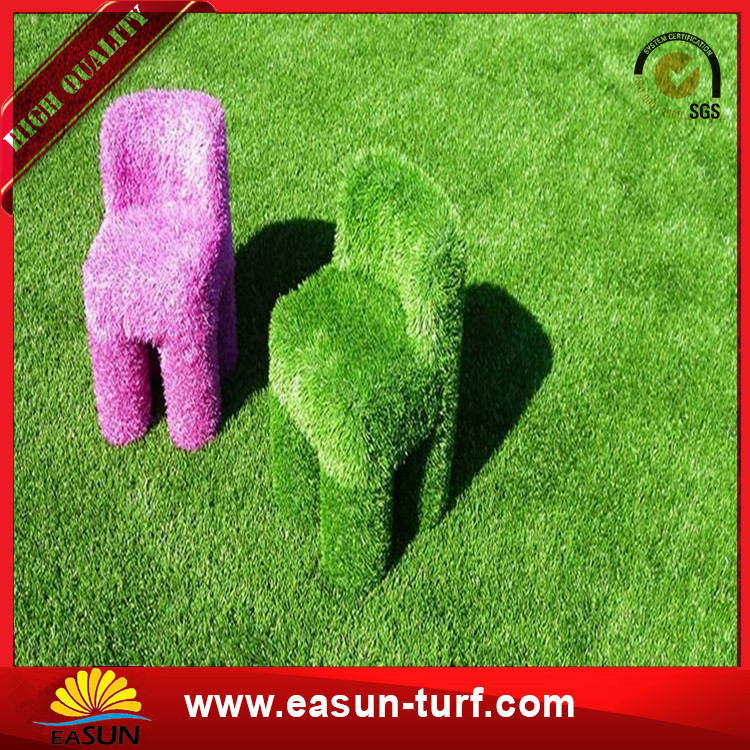 Hot selling Wedding Decoration Artificial Grass door mat with flower from China-Donut