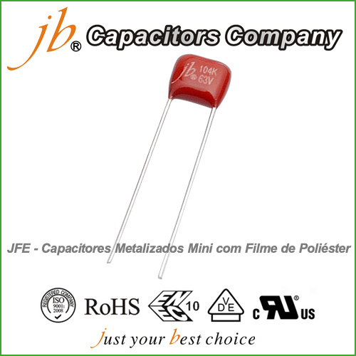 JFE--Mini Metallized Polyester Film Capacitor