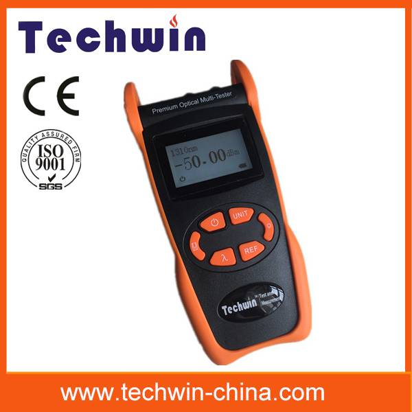 Techwin optimal optical fiber test multimeter TW3305E