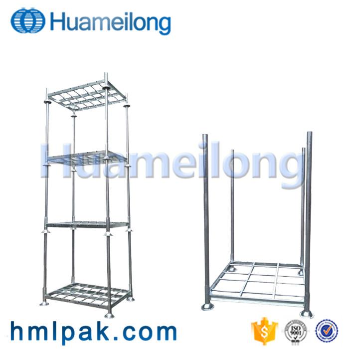 China heavy duty adjustable warehouse storage galvanized steel metal stacking pallet rack