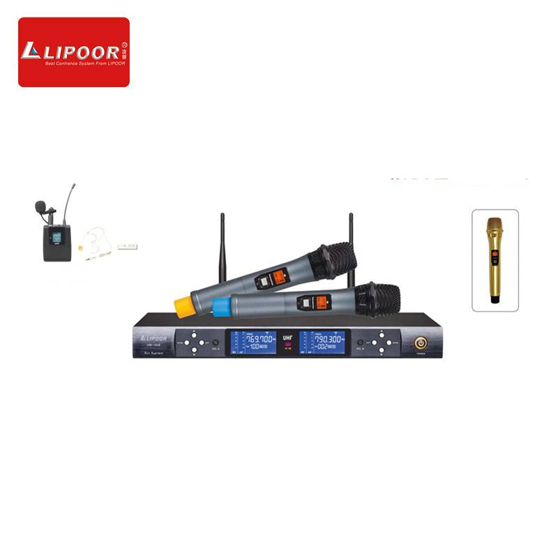 Karaoke/Speech/Conference/Club Wireless Microphone for High End Performance