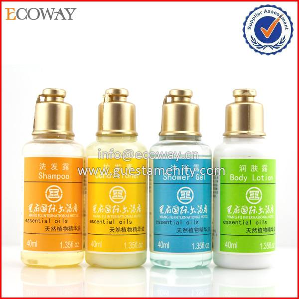 OEM 3-5 star 40ml Disposable Hotel Luxury Shower Gel