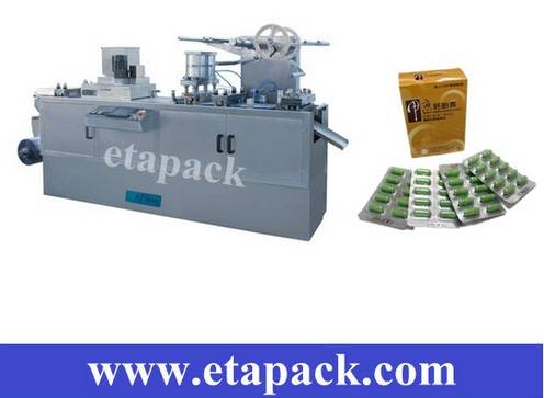 Flat plate auto blister packing machine