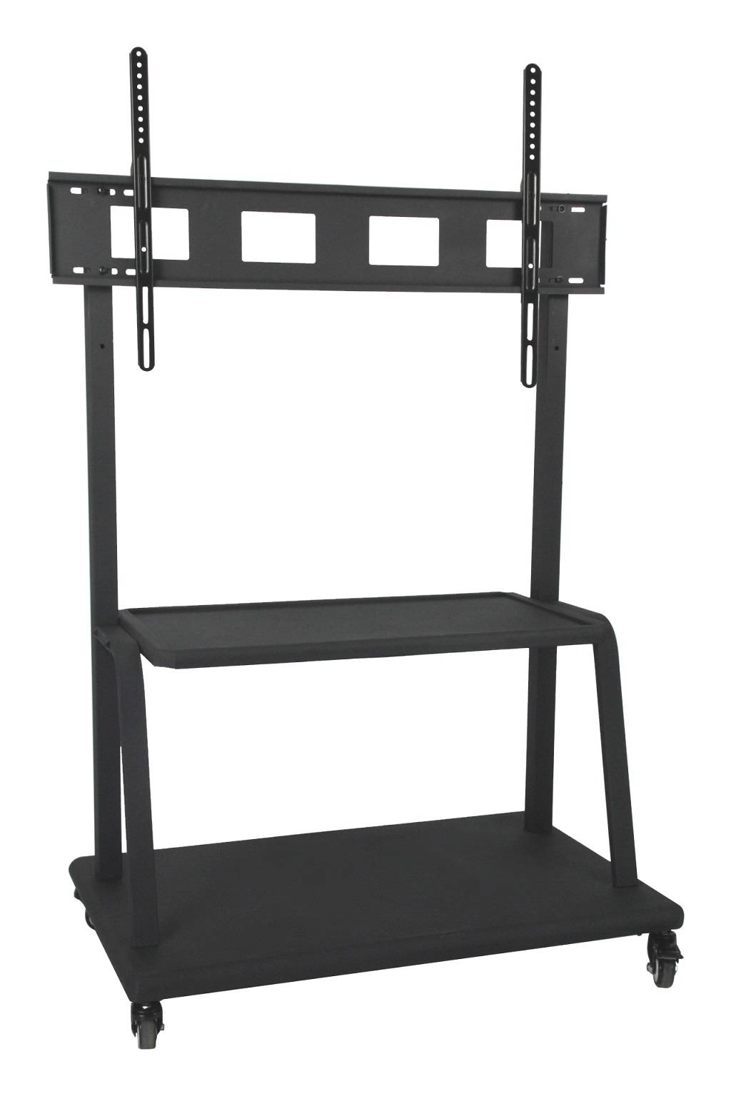 AV TV Mobile Cart for Display up to 110