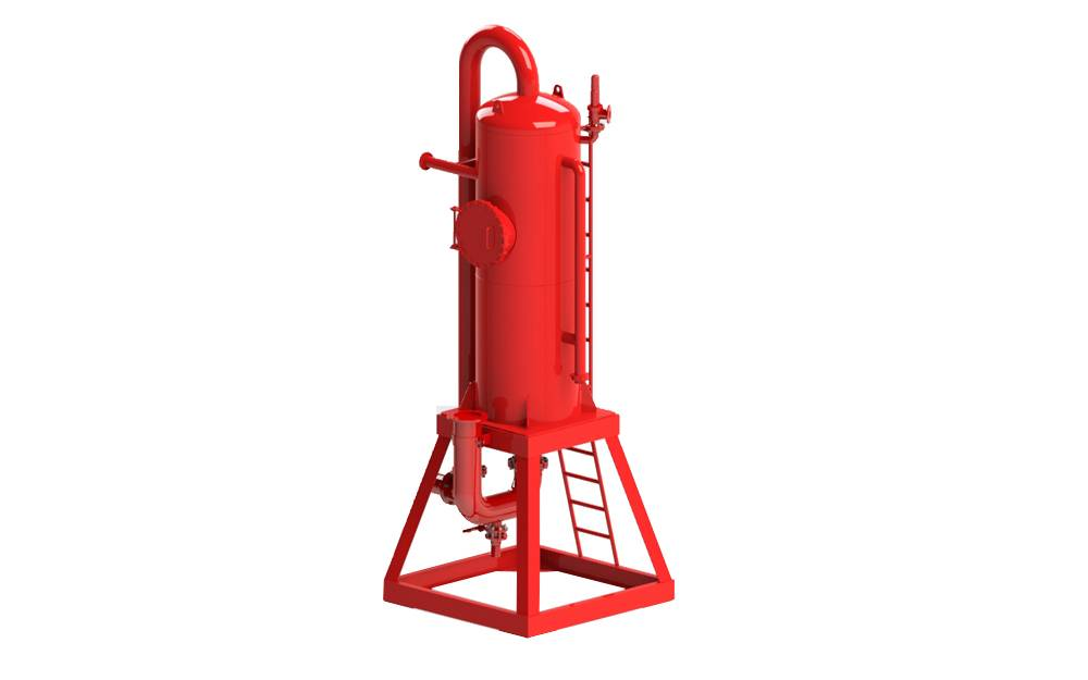 Drilling Mud Gas Separator for liquid and gas