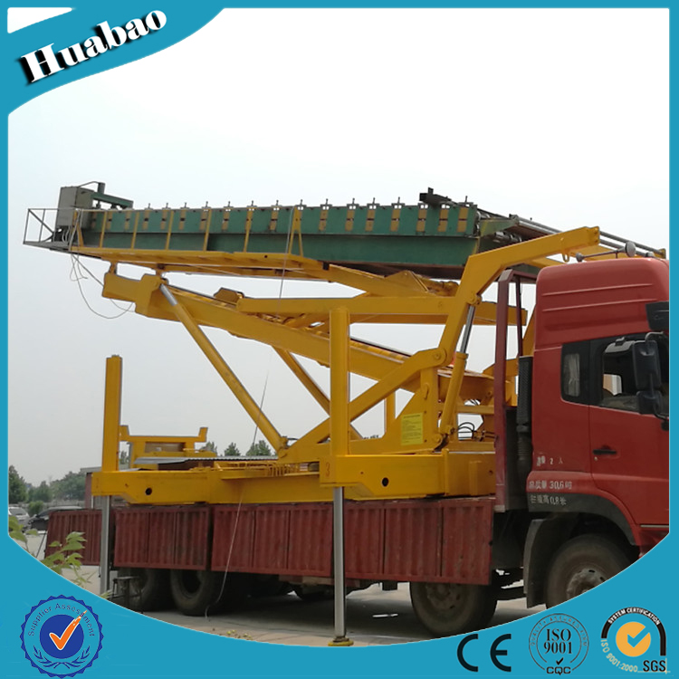 8T 14m high quality customized size multifunction hydraulic suspended platform