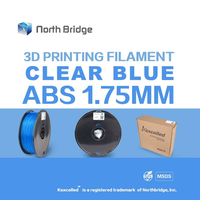 Kexcelled 1.75mm 3.0mm ABS 3D filament for 3D printer