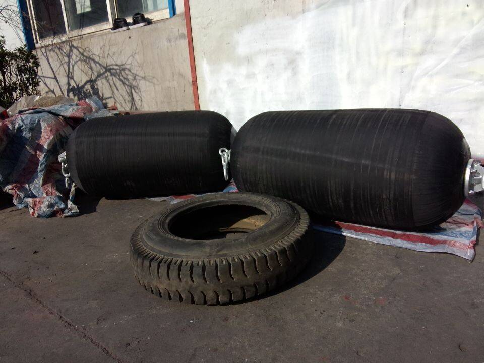 the launching airbag rubber fender for boat and dock