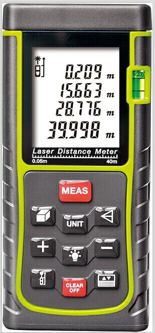 Hand-held laser distance meter OC-E series