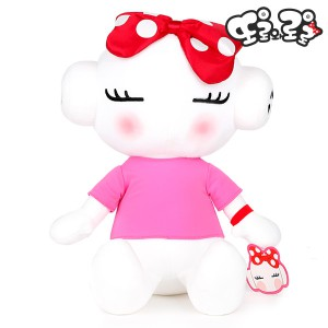 Tire mascot plush toy-girl