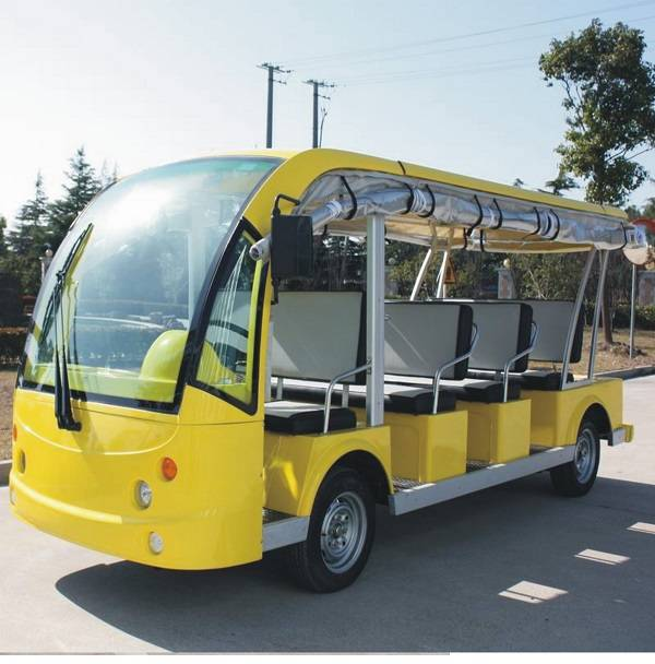 11 seats tourism electric sightseeing passenger bus