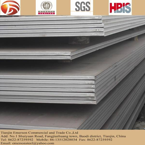 steel plate, carbon steel plate, hot rolled steel plate large on stock for construction