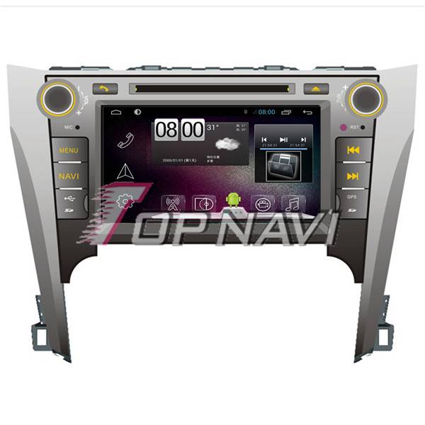 8inch Android 4.4 Car DVD GPS Player Video For Toyota Camry 2012 Navigation Wifi