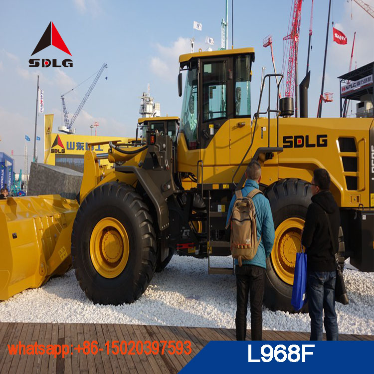 2018 new model SDLG 6T L968F wheel loader for sale,LG968 with best quality and low price