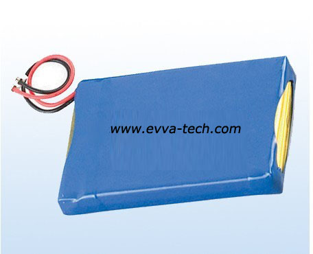 Battery Pack with Polymer Cell 11.1V 3S1P 800mAh 383759